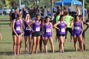 Girls JV at Rowe CC Meet (Bentsen)