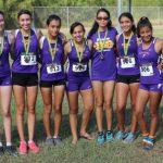 JV Girls Win Rowe Cross Country Meet