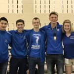 Leavenworth High School Boys Varsity Swimming finishes 6th place
