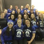 Girls Varsity Swimming finishes 3rd place at Triangular @ Shawnee Mission West High School