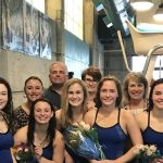 Girls Varsity Swimming finishes 2nd place at Invitational @ Riverfront Community Center