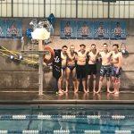 Boys Varsity Swimming Ties Lansing for 1st @ Home Quad