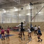 Girls Varsity Volleyball beats Turner 3 – 0