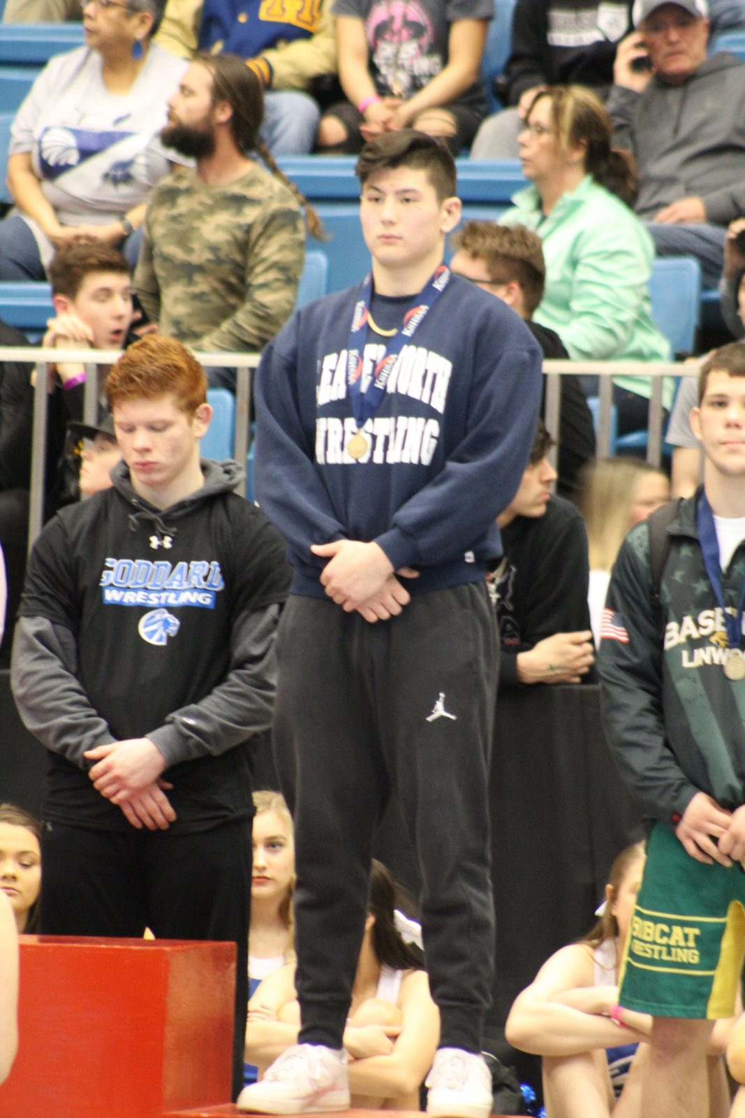 Tyler Robinson Finishes Strong at State Wrestling