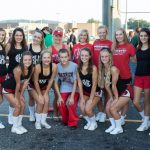 Cheerleaders welcome new coaches for 2016-2017