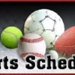 Athletic Schedule (1/16-1/21)