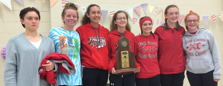 XC Girls Region 7A Champions
