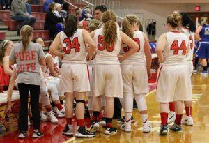 Girl's Junior Varsity Basketball December 6