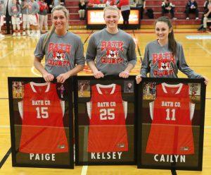 Girls Varsity Basketball Senior Night