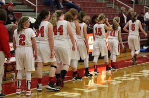 Girls JV Basketball February 9th