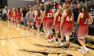 Girls Varsity Basketball February 21st District