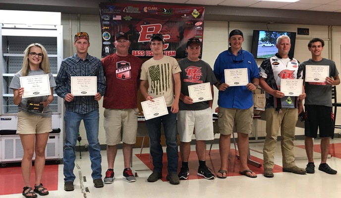 Bass Fishing Awards Banquet