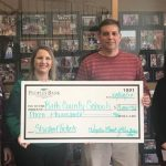Peoples Bank of Kentucky makes Donation to BCHS for Students Free Admission to Athletic Events