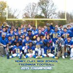 Freshman Football Wins League Title!