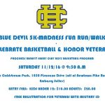 Blue Devil 5K-Madness Fun Run/Walk