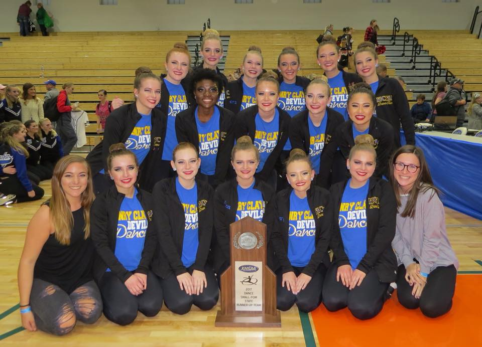 Henry Clay Girls Dance Team State Runner-Up