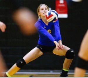 Athlete of the Month – Abby Shadwick – Volleyball – Sophomore