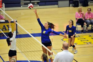 HCHS Volleyball Pink Night vs FDHS–Photos by Mike Vescio