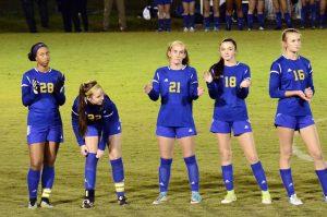 Girls Soccer Region Semi-Final vs No. 2 Lexington Catholic