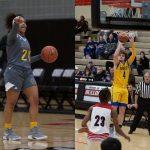 Keaston Brown/Kiya Thompson Athletes of the Month