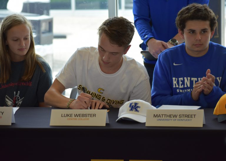 11 Student-Athletes Commit to Colleges During the Spring Signing Celebration