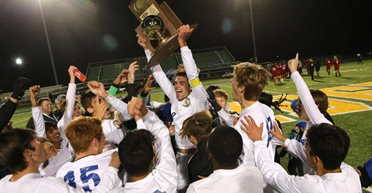 State Champion Boys' Soccer Team Finishes 17th in Nation