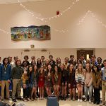 Cross Country Team Presents End of Season Awards