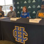 Four Student-Athletes Make College Choices at Signing Ceremony