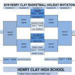 Henry Clay Basketball Holiday Invitational Bracket