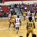 Boys Varsity Basketball beats Scott County 68 – 59
