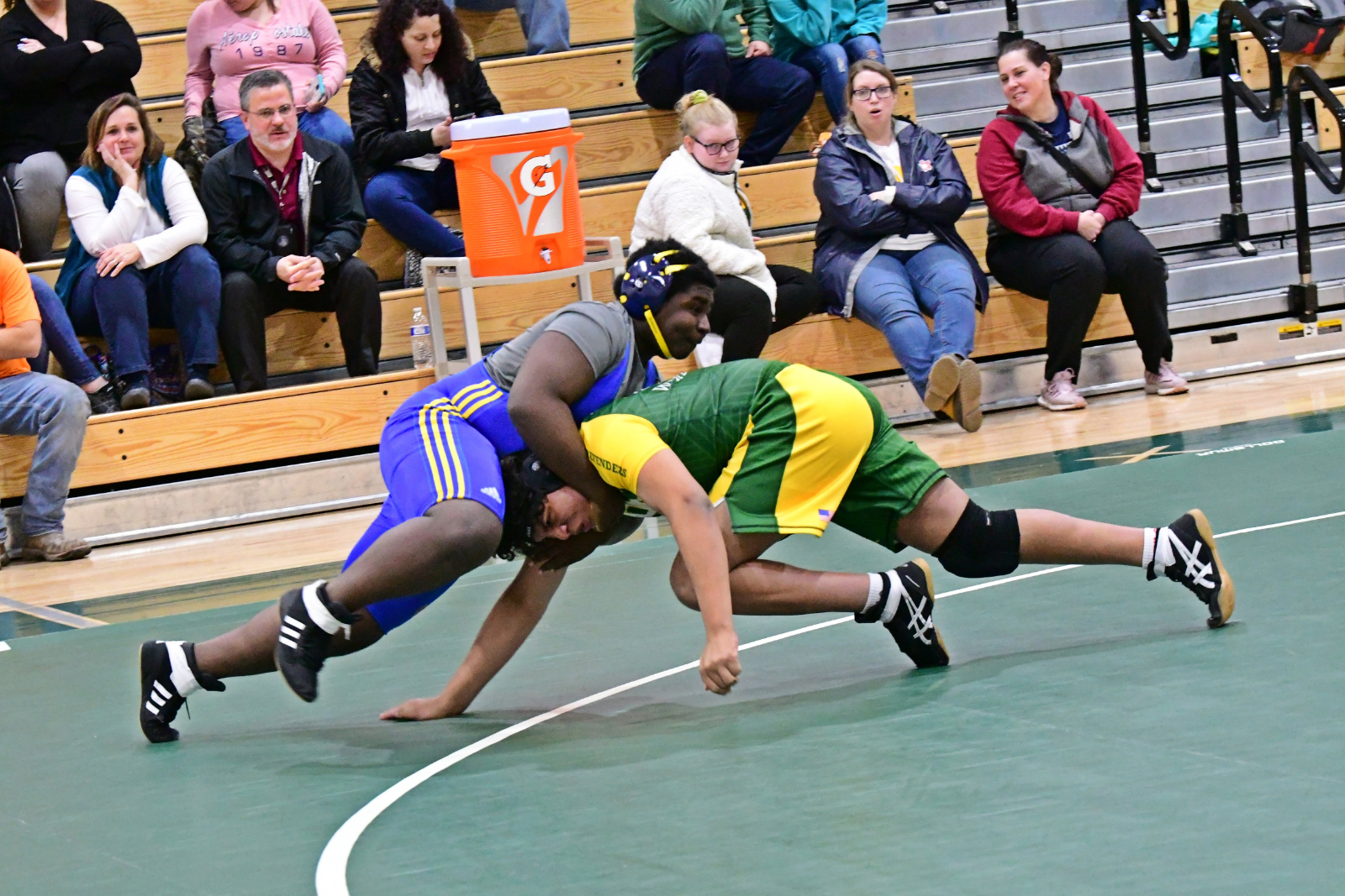 Wrestling – Henry Clay @ FDHS, 20200115–Mike Vescio Photographer
