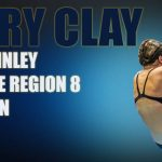 Defending State Champ Van McKinley is the 2020 Regional Swim and Dive Champion