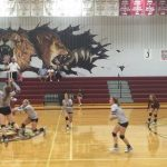 Poolville High School Girls Varsity Volleyball beat Lingleville High School 3-0