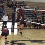 Poolville High School Girls Varsity Volleyball beat Alvord High School 3-0