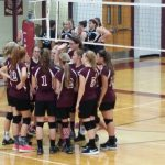 Junior High Volleyball Beat Graford and Bryson