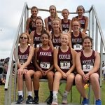JH Lady Monarchs compete at Alvord CC meet 9/24