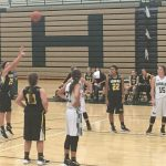 Kenowa Hills High School Girls Varsity Basketball falls to Coopersville High School 42-65