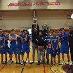 Edgewood High School Boys Varsity Basketball beat New Roads High School 73-56