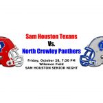SHHS v. North Crowley Varsity Football Tickets