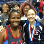 Congratulations Destiny and Lishawn.  STATE CHAMPS!
