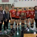 Chargers beat Raiders to Clinch Sectional 45 Volleyball Title