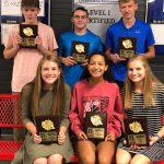 Varsity Cross Country Honors Runners