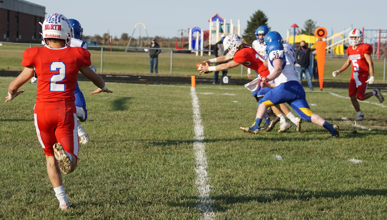 Varsity Football -v- Cambridge City Lincoln 24 October 2020 Sectional Game 1