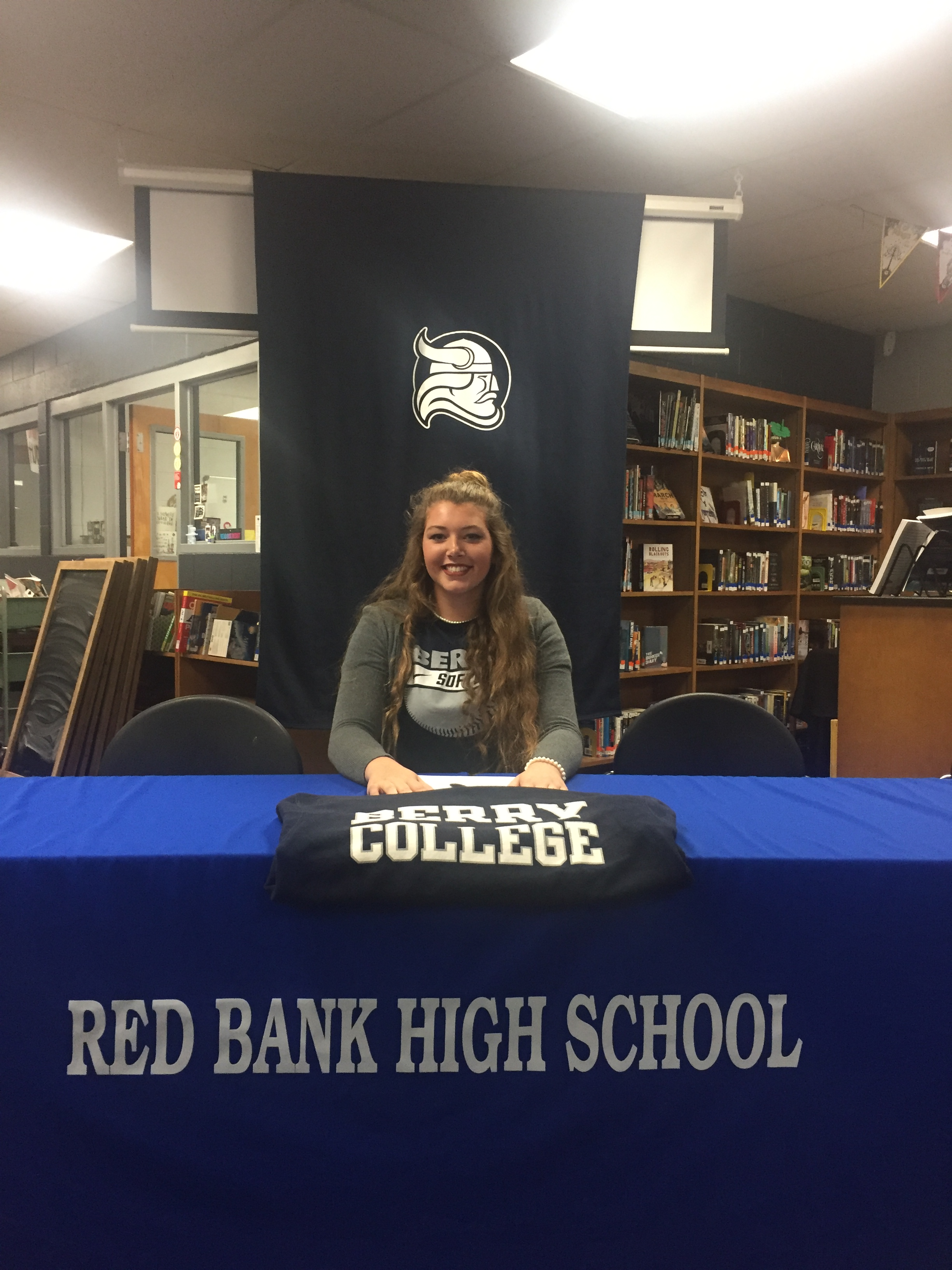 Hannah Wood Signs With Berry College