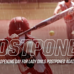 Softball opening day Postponed, again