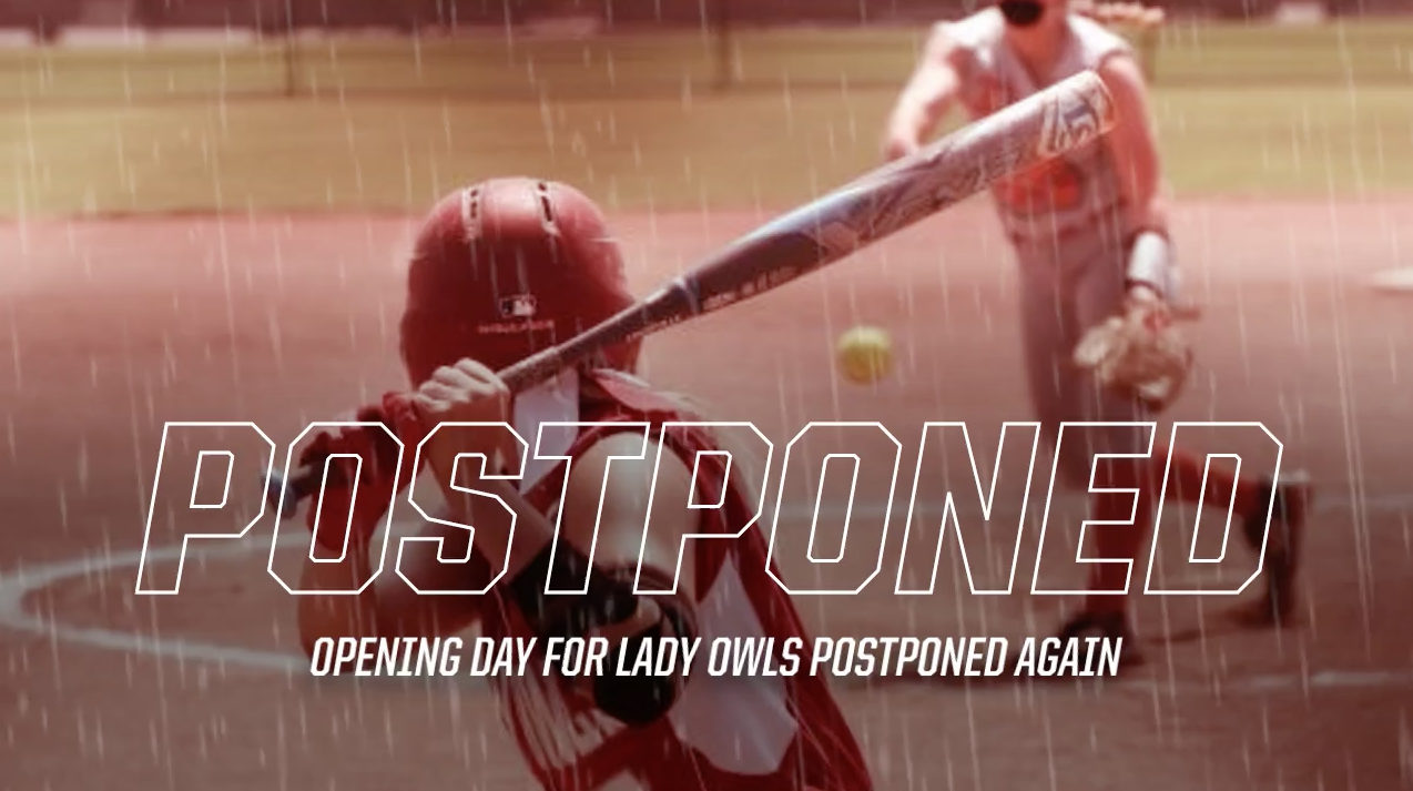 Softball opening day Postponed, again