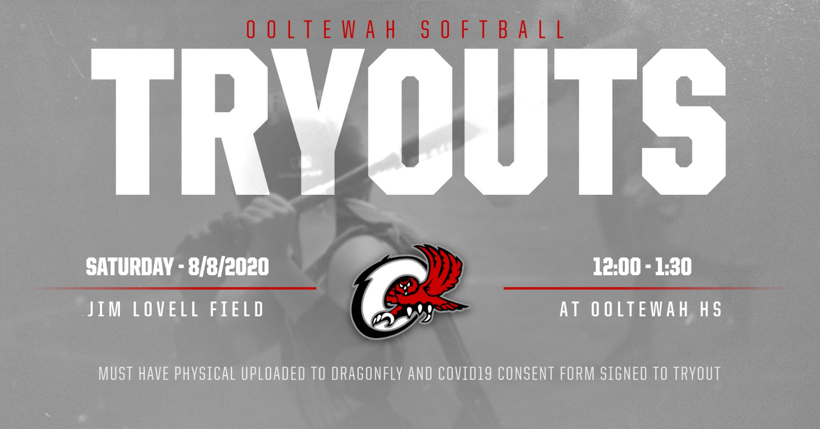 2020-21 Ooltewah Softball Tryouts Scheduled