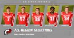 Five Owls earn All Region honors