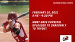 Ooltewah Softball Tryouts