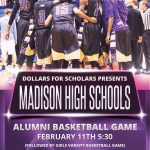 Alumni Basketball Game February  11th 5:30pm